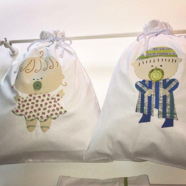 Pré-Venda: Saco de roupa suja Bebê